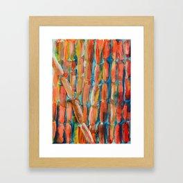Coral Night of Sugarcane Framed Art Print