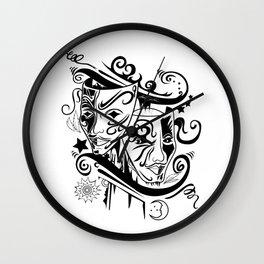 Zodiac - Gemini Wall Clock