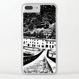 Ponte della Maddalena Clear iPhone Case