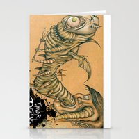 inner demons Stationery Cards featuring Inner Demons by Nash Gottfried