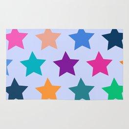 Colorful Stars Rug