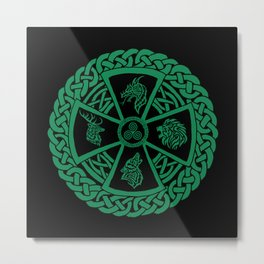 Celtic Nature 2 Metal Print