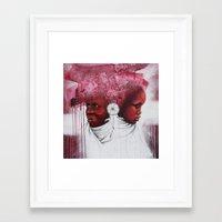 african Framed Art Prints featuring African  by Sebastian Wandl
