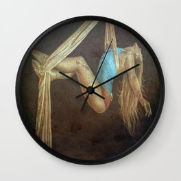 Keep Her in Suspense Wall Clock