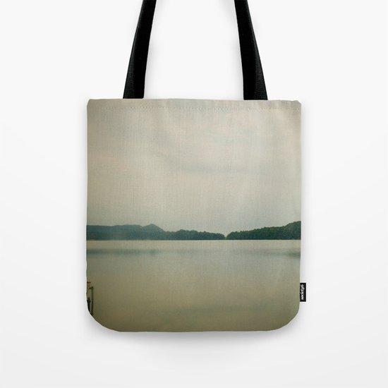 Herring Lake Dock Tote Bag
