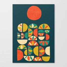 Jumpy Hills Canvas Print