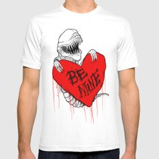 Bursting with Love Mens Fitted Tee White MEDIUM