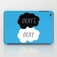 okay iPad Cases featuring Okay? Okay by Lola