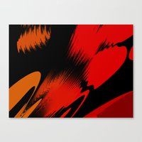 splatter Canvas Prints featuring Splatter by ArtsandStyles