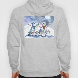 It's Snowing Cats and Dogs (and Mice too) Hoody