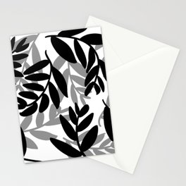 The Black Leaves Stationery Cards