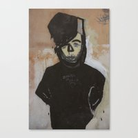 goth Canvas Prints featuring Goth by Rick Onorato