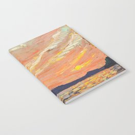 Tom Thomson - Smoke Lake - Canada, Canadian Oil Painting - Group of Seven Notebook