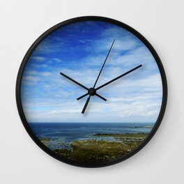 belle bretagne o2 Wall Clock