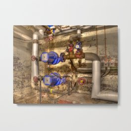 Pumps and Valves Metal Print