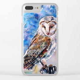 Screech-owl II Clear iPhone Case