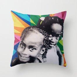 Gials Throw Pillow