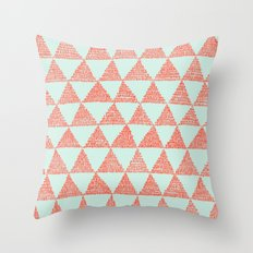try-angles Throw Pillow