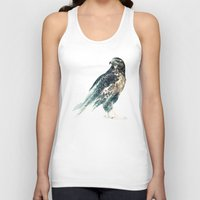 falcon Tank Tops featuring Falcon by RIZA PEKER