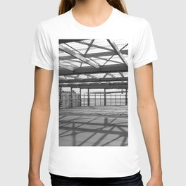 Metal constructions barriers with protective cells T-shirt