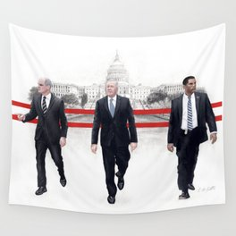 Proximity to power deludes some into thinking they wield it. Wall Tapestry