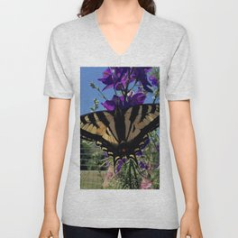 Swallowtail 2 Unisex V-Neck