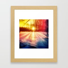 Take The Prismatic Path (001) Framed Art Print