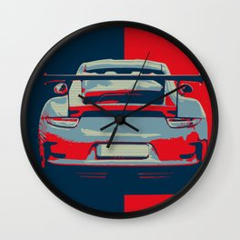 Cool 913 GTS Wall Clock