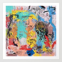 SAMO Art Print