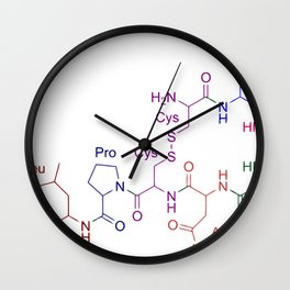 Chemical formula Wall Clock