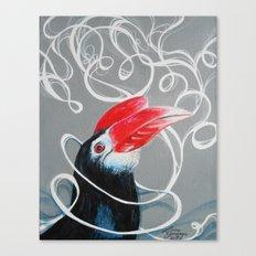 Hornbill Canvas Print