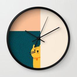 Little_Cat_Cute_Minimalism Wall Clock