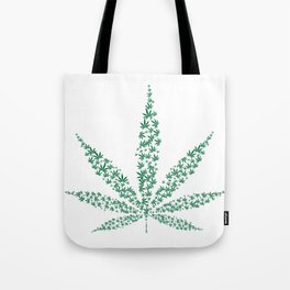 get high on life,natiural herb,Marijuana Botanical Print, Marijuana Botanical Art Print, Tote Bag