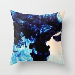 Blue Haze Throw Pillow