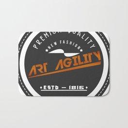 Art Agility Premium Quality Vintage Design Bath Mat