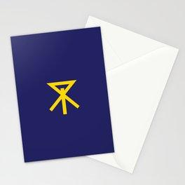 flag of Osaka Stationery Cards