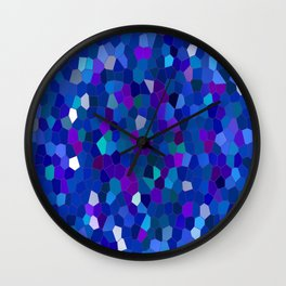 Geometrically mosaically speaking... Wall Clock