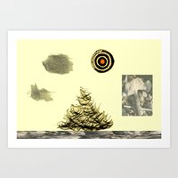poem Art Prints featuring Poem. by Sunny-studio's™