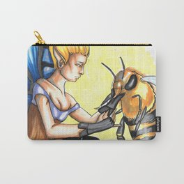 Fairies and Bees Carry-All Pouch