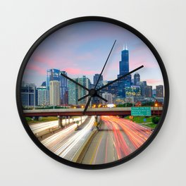 Chicago 02 - USA Wall Clock