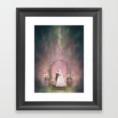 A Happy Beginning Framed Art Print