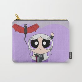 Powerpuff Dany & Drogon Carry-All Pouch
