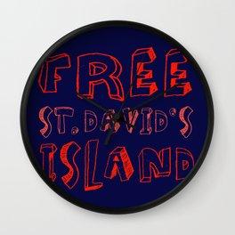 FREE ST. DAVID'S Wall Clock