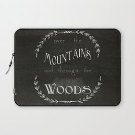 Over the Mountains Laptop Sleeve