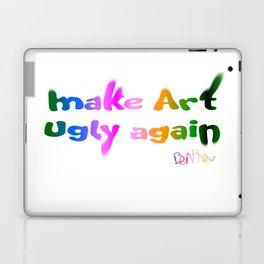Make Art Ugly Again Laptop & iPad Skin