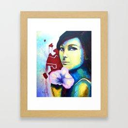 Kibou Framed Art Print