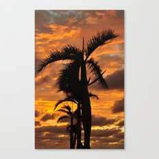 Super Typhoon Sunset Canvas Print