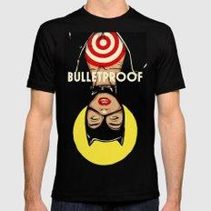Bulletproof Black Mens Fitted Tee LARGE