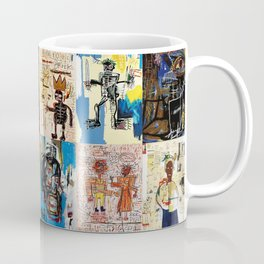 Basquiat Montage Coffee Mug