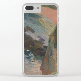 The Flageolet Player on the Cliff Clear iPhone Case